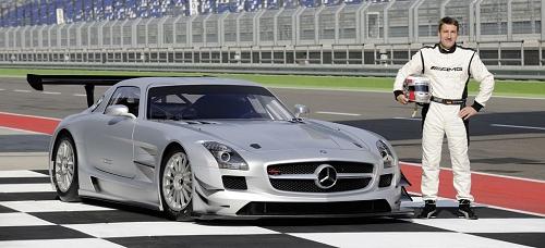 Mercedes SLS GT3 Bernd Schneider