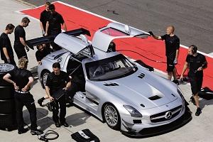 AMG Mercedes SLS GT3 Bilder