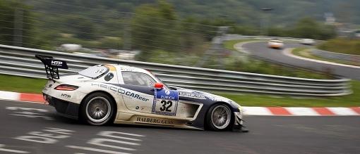 24h Nuerburgring Mercedes SLS