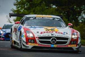 mercedes sls sieg schneider nuerburgring