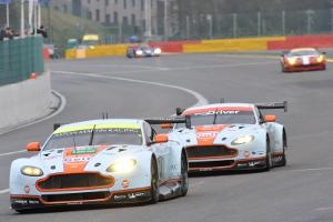 Spannung bei der Le Mans-Generalprobe: Werden die Aston Martins wie in Silverstone die GT-Klasse beherrschen? © PSTU